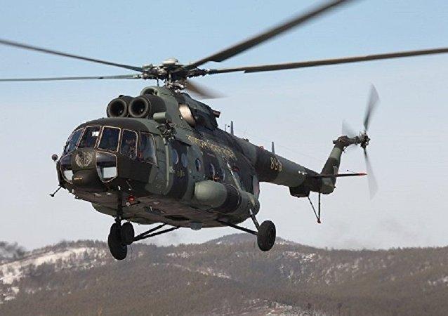 米-171SH军用运输直升机