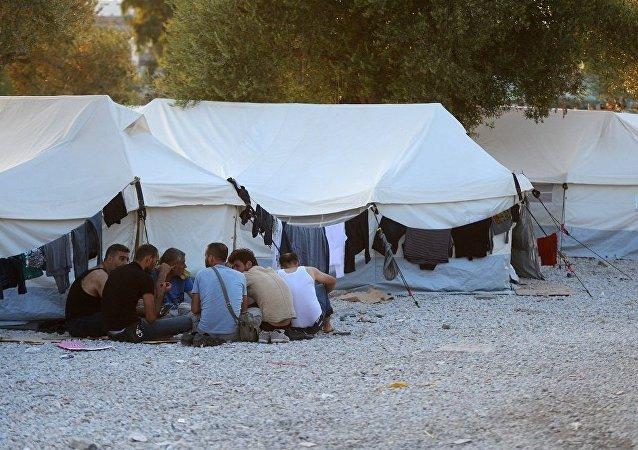 大批難民從土耳其湧入希臘
