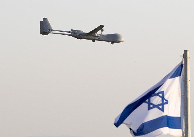 """以色列  """"赫尔墨斯""""(Hermes) 500型无人机"""
