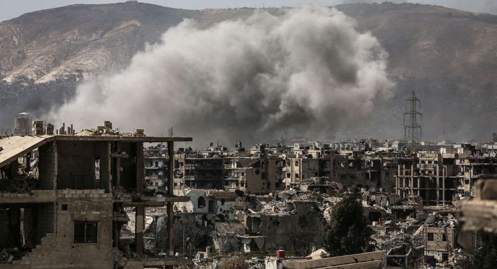 以色列空軍向大馬士革市郊軍事設施發射導彈