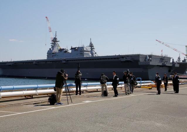 """DDH-184""""加贺""""号直升机航母"""