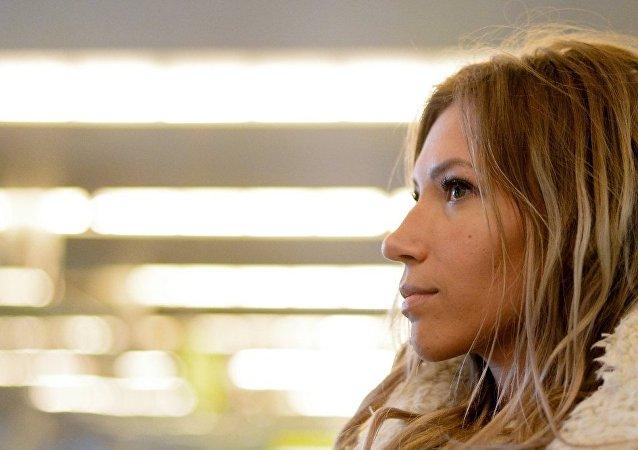 俄女歌手萨莫伊洛娃