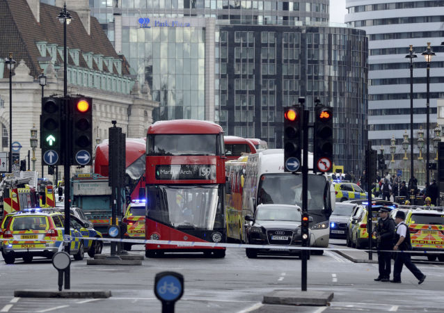 媒體稱工兵爆破英國議會旁的可疑物品