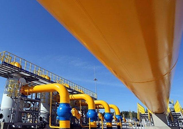 今年1月至8月期间俄天然气公司向土耳其的天然气供应量上升22,3%