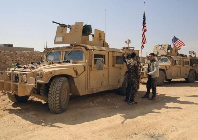 美國已在敘利亞部署近20個軍事基地培訓武裝分子