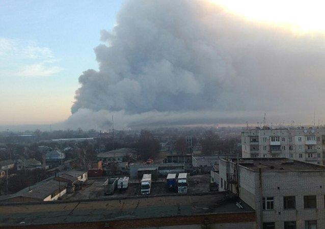 基辅请求北约援助消除乌军火库爆炸事件后果