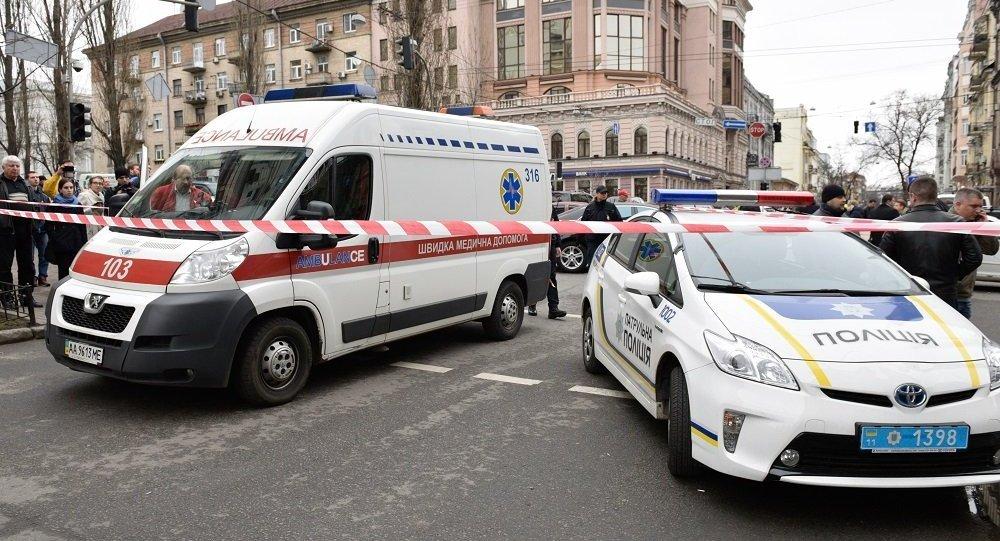 哈尔科夫市一辆越野车冲入人群导致5人死亡6人受伤(资料图片)