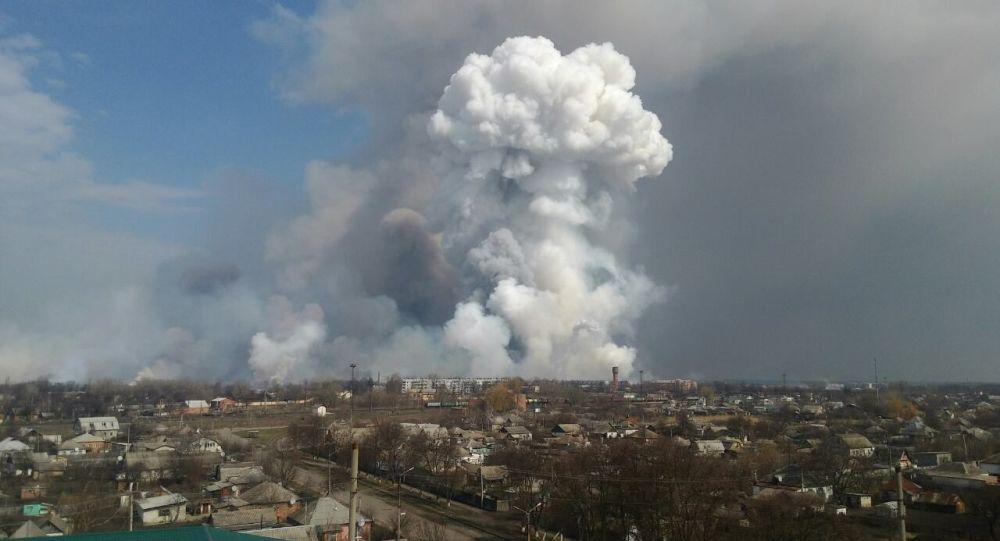 媒体称乌克兰因仓库爆炸损失40%弹药