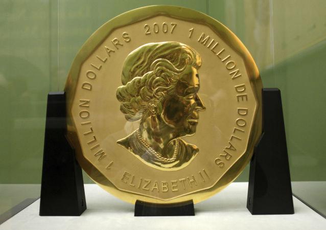 一枚價值100萬美元的金幣在柏林博物館被盜