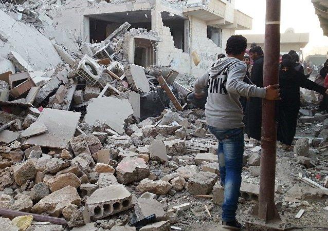 国际联军未经证实发起解放叙利亚拉卡行动的消息