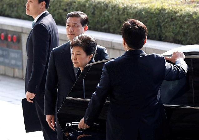 韓檢方再次提審前總統樸槿惠