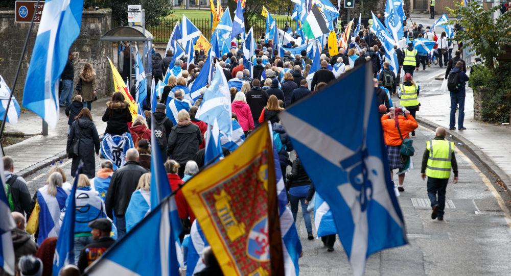 苏格兰议会支持再次举行独立公投