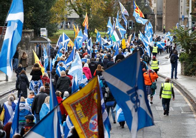 民調:多數蘇格蘭人在無協議脫歐的情況下支持獨立