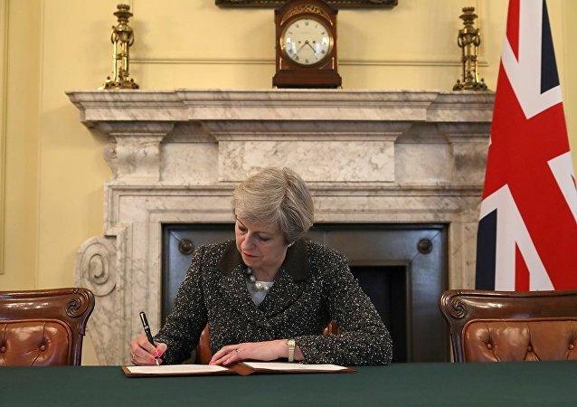 英国首相:苏格兰、北爱尔兰和威尔士将因脱欧获得新的权能
