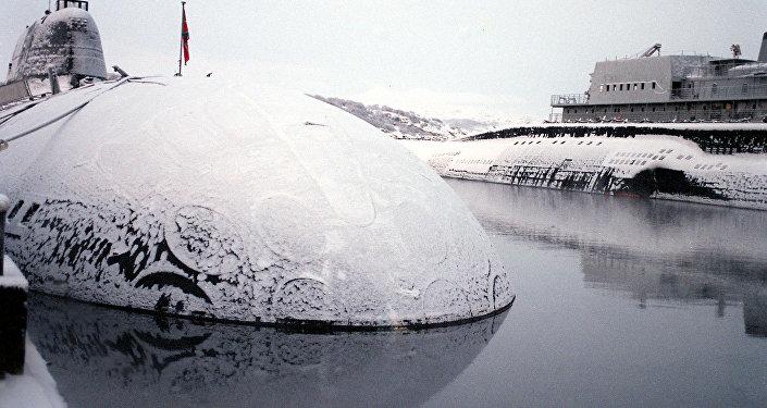 俄羅斯為勘探北極礦產研發首艘民用核潛艇  (資料圖片)