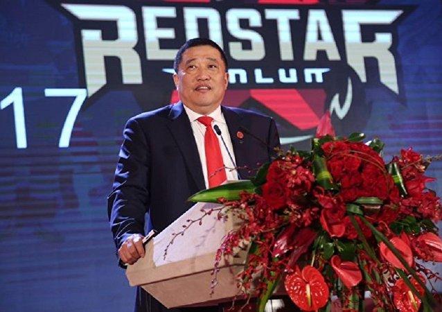 北京昆仑鸿星冰球俱乐部主席赵晓宇