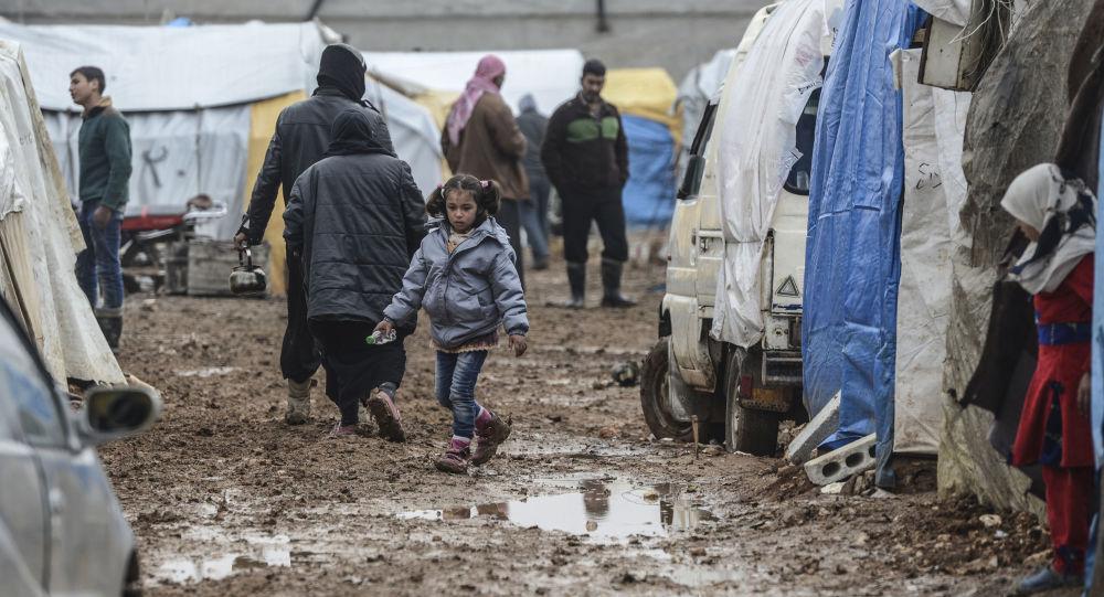 敘利亞難民營