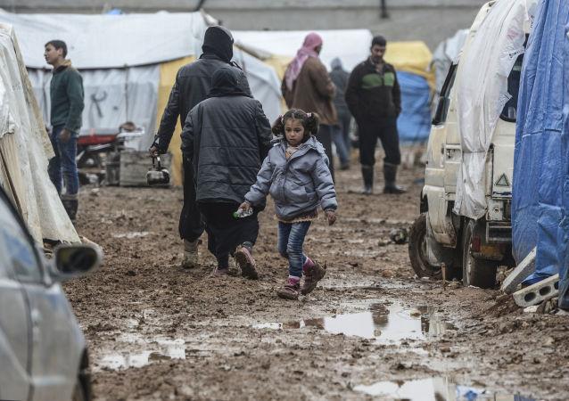 叙利亚鲁克班难民营
