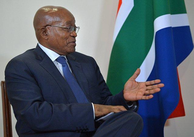 南非議會議長接受總統祖馬辭職