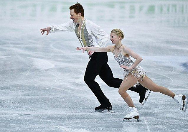 俄教练:俄花样滑冰运动员将在冬奥会双人自由滑比赛中与中国选手展开角逐