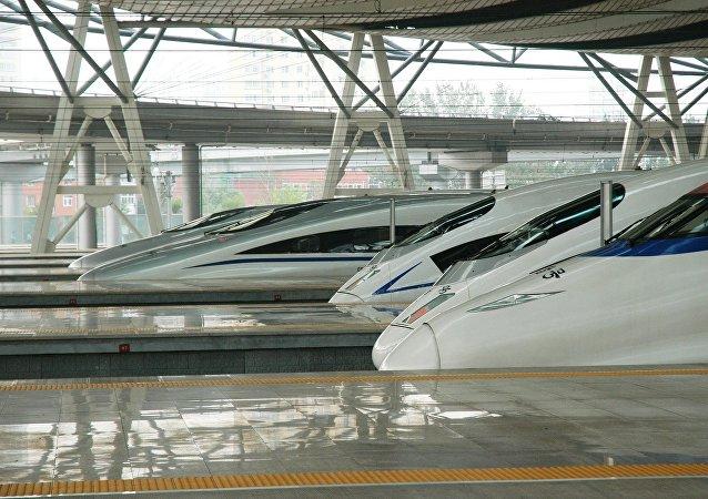 俄有意為濱海邊疆區至中國高速鐵路建造鐵軌