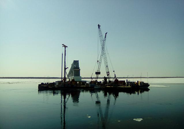 同江中俄铁路大桥中方段主体工程全部完成