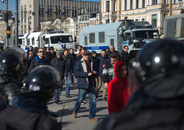 莫斯科抗議活動
