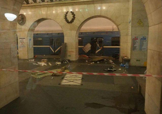 俄反恐委员会承诺将很快查明圣彼得堡地铁爆炸原因