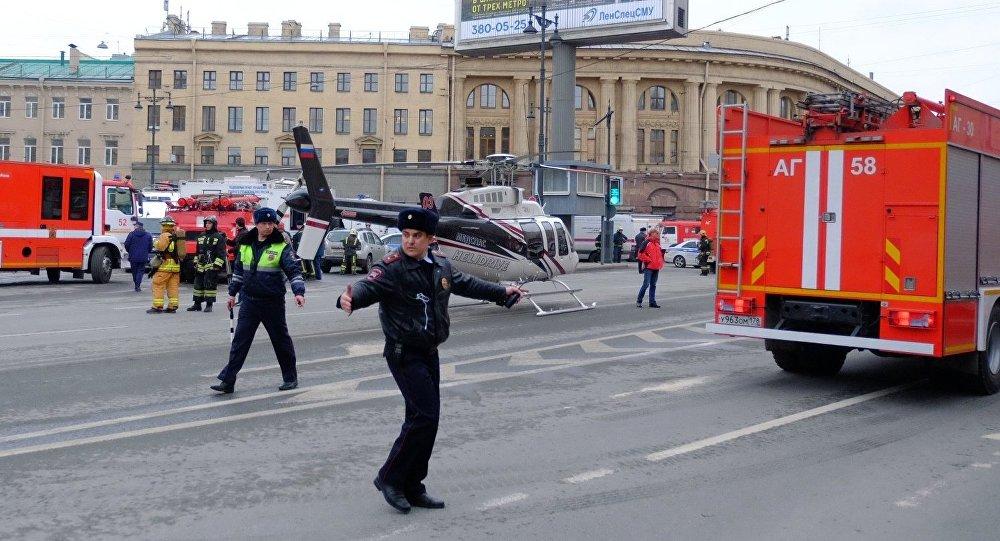 媒体称普京座驾原本要经过圣彼得堡爆炸地铁站 佩斯科夫予以否认