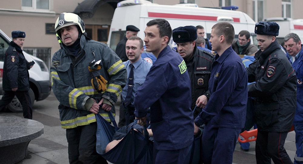 俄卫生部消息称,圣彼得堡地铁爆炸导致47人受伤,10人死亡
