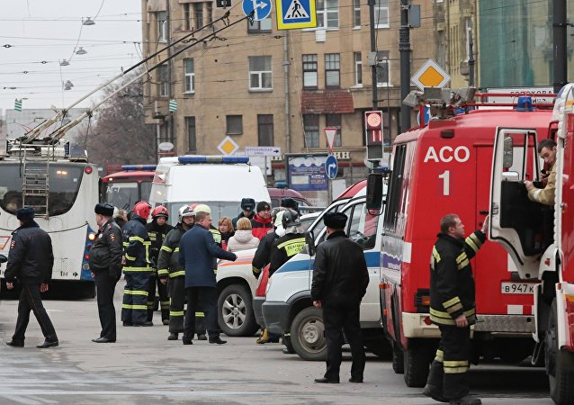克宫:普京在圣彼得堡时当地发生恐怖袭击案引人思考