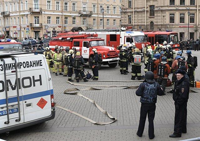 圣彼得堡地铁恐袭