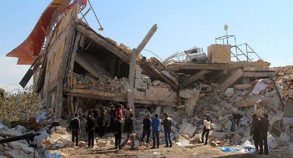 叙利亚伊德利卜爆炸事件导致28人死亡