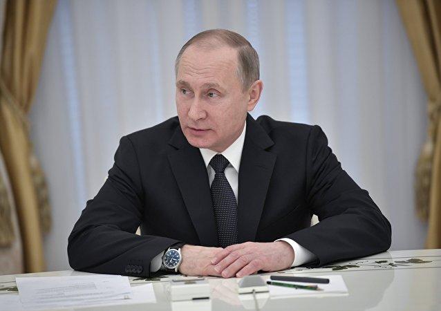 普京:俄塔联合反恐努力符合双方共同利益