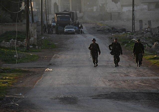 俄外长:在叙利亚建立冲突降级区将有助于区分战斗的力量