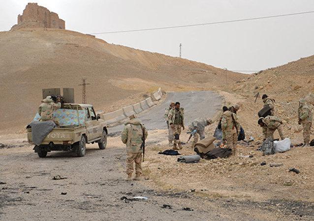 敘利亞,敘軍(資料圖片)