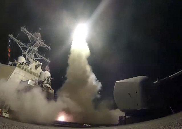 美國對敘導彈襲擊
