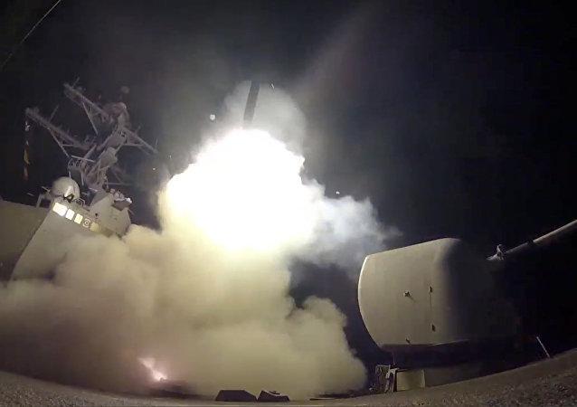 俄议员:美国未必会再次对叙空军设施进行导弹打击