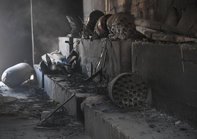 美軍轟炸敘空軍基地後 IS和「征服陣線」立即對敘軍陣地發起進攻
