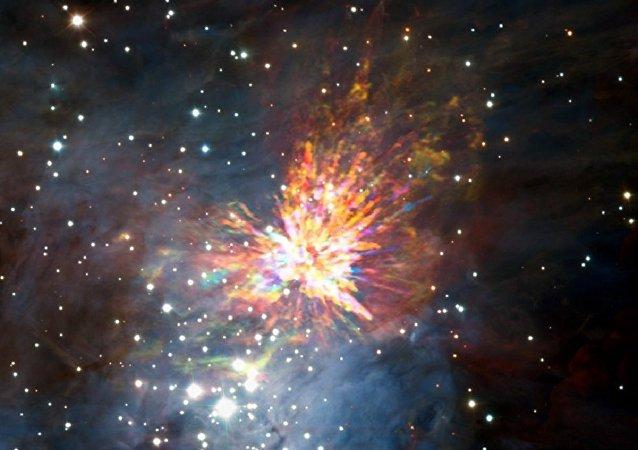 天文學家首次看到新生恆星爆炸