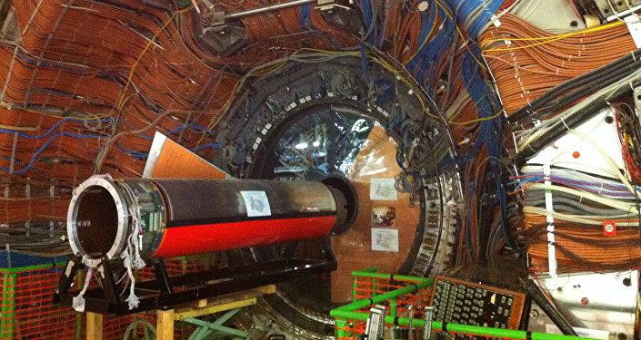 """俄罗斯科学家将在欧洲核子研究中心研究""""美夸克"""""""
