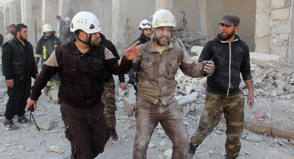 """媒体:美国务院冻结对叙境内""""白盔""""组织资助"""