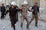 媒體曝美國從敘利亞撤離「白頭盔」計劃