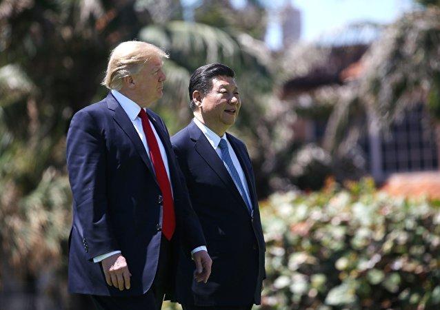 外媒:特朗普认为与华关系出现改善