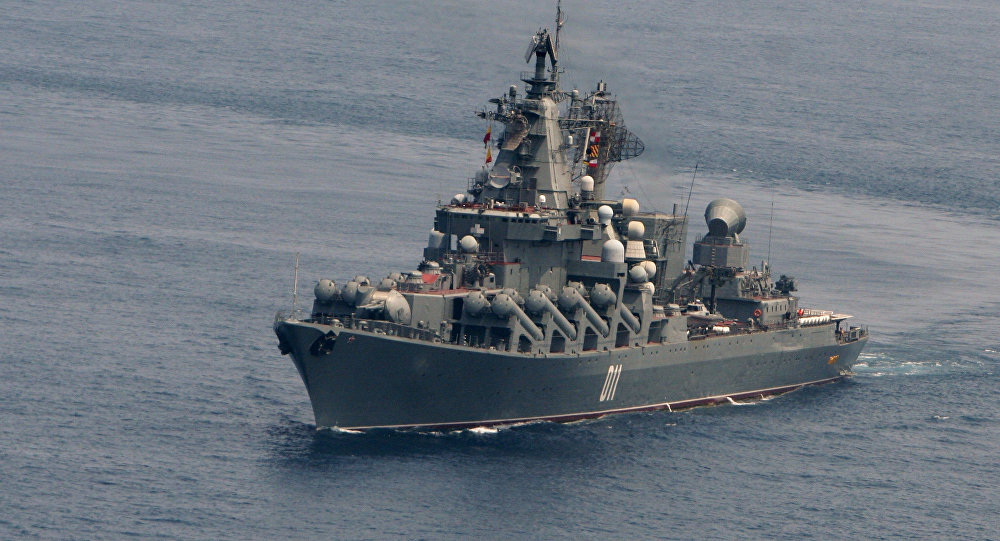 """""""瓦良格""""号近卫导弹巡洋舰"""
