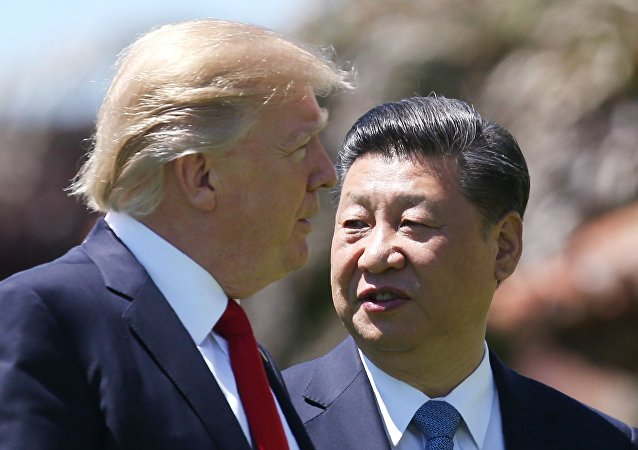 特朗普:如果中国解决不了朝鲜问题 美国和盟国准备解决
