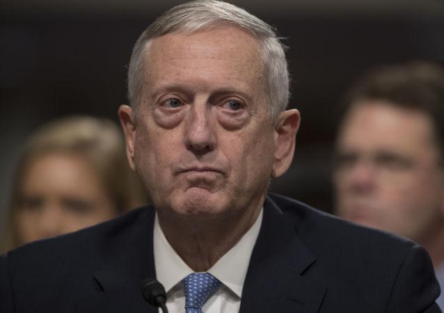 美国国防部长马蒂斯