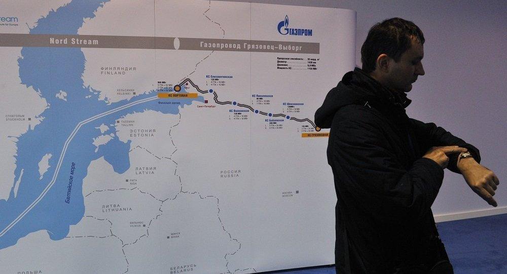 """俄方预计在第二季度获得丹麦和瑞典的""""北溪-2""""项目施工许可"""