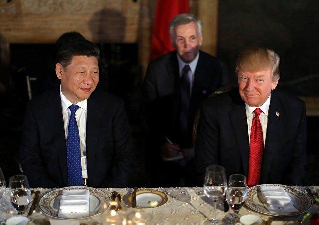 习主席与美国总统特朗普