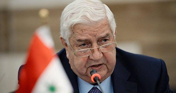 敘利亞外交部長瓦利德·穆阿利姆